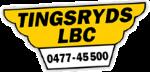 Truckförare till Tingsryds Lastbilscentral logotyp